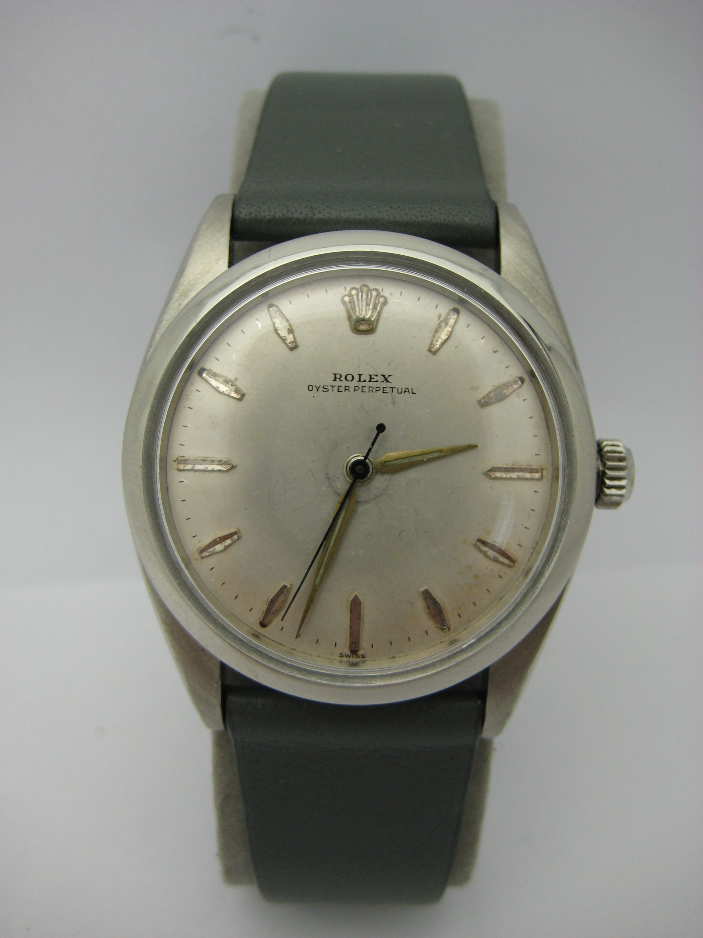 Rare Men S Rolex Oyster Perpetual 5504 Automatic 1530 Watch W J